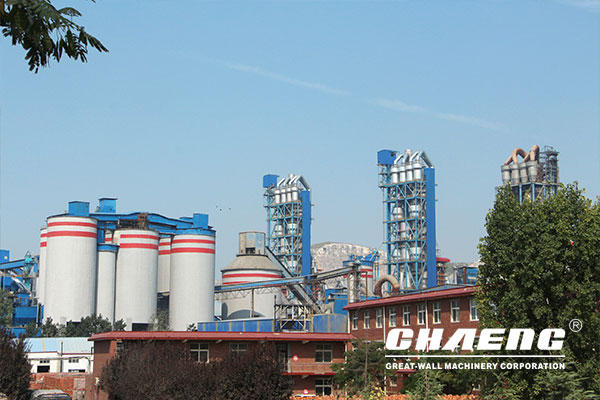 Henan Meng Electric Cement Group 5000t/d New dry cement production line
