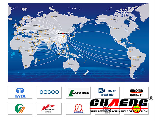 CHAENG products  exported to all over the world