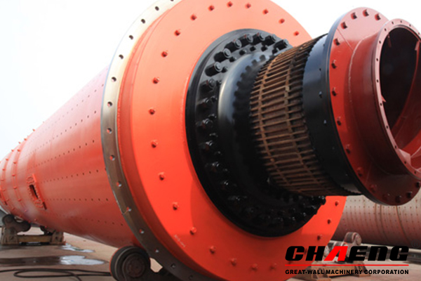 cement grinding unit, clinker grinding station, ball mill