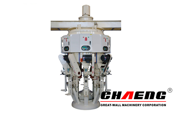 Cement bag packing machine